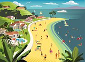 Tropical Beach Holiday with water sports