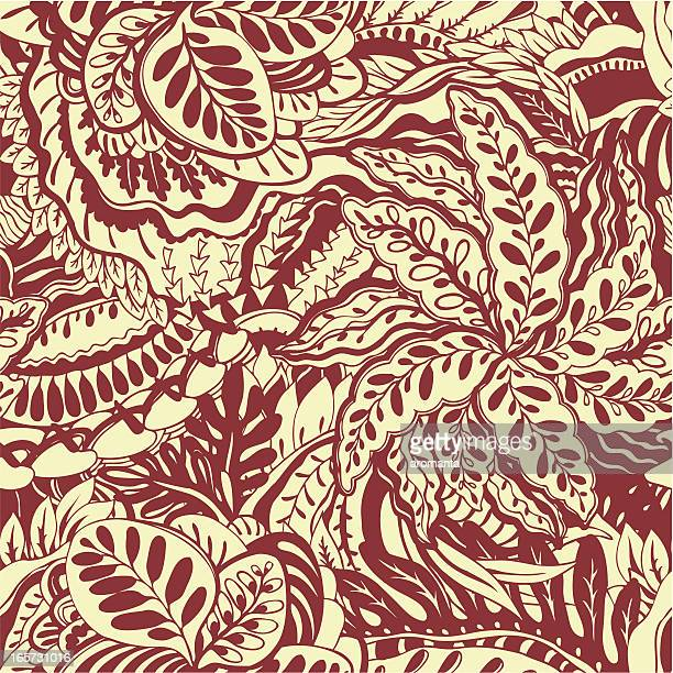tropical pattern - calla lily stock illustrations