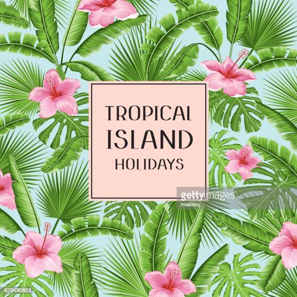 Tropischer Sommerurlaub