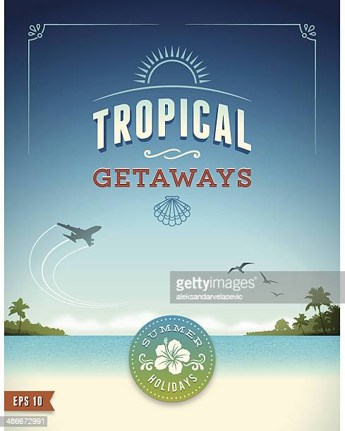 Tropical Vacation Poster