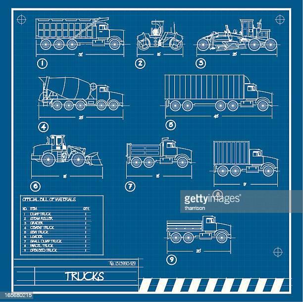 Truck Blueprint
