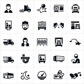 Trucking Industry Icons
