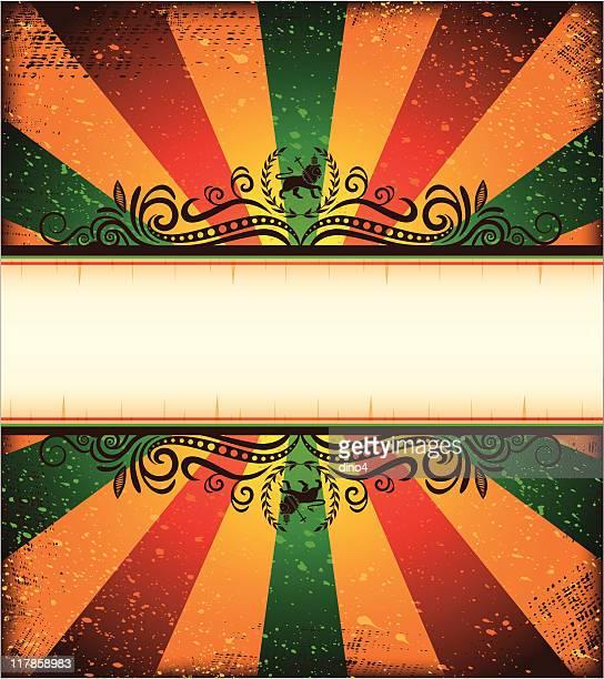 true lion of judah frame - rastafarian stock illustrations, clip art, cartoons, & icons