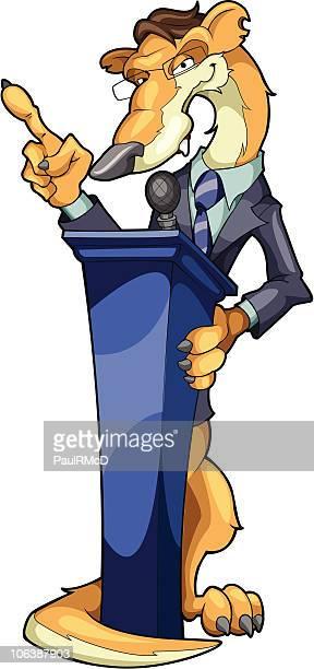 Trustworthy politician