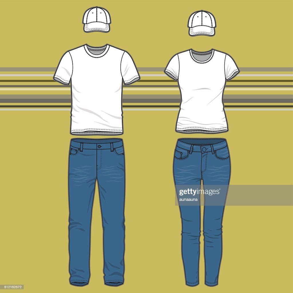 T-shirt and jeans set