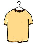 t-shirt hanging