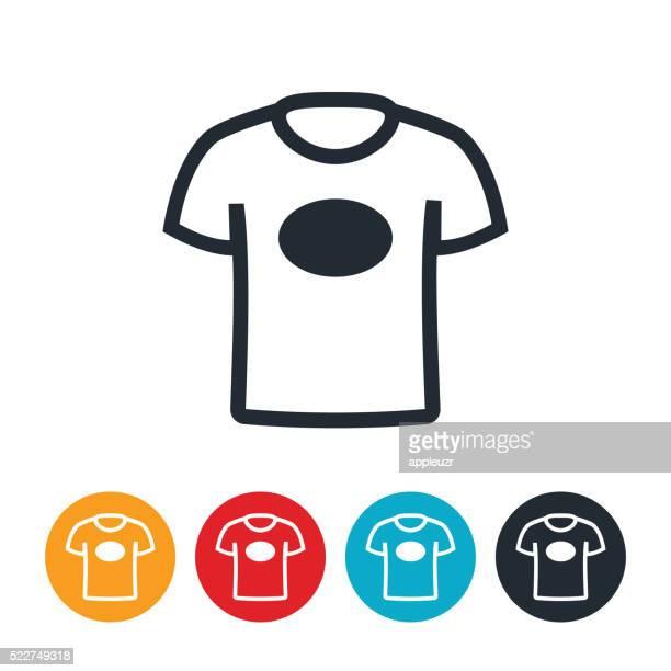 t-shirt icon - t shirt stock illustrations, clip art, cartoons, & icons