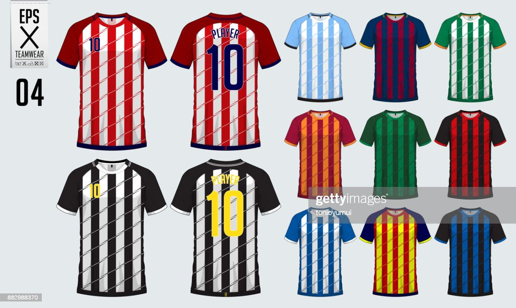 tshirt sport design for soccer jersey football kit or sport uniform