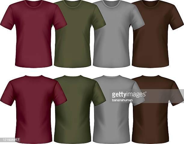 t-shirt - braun stock-grafiken, -clipart, -cartoons und -symbole