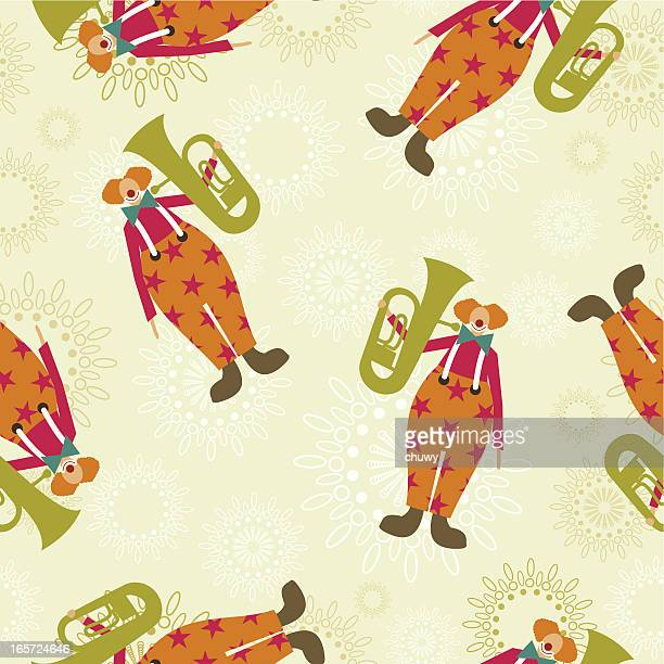 Tuba-clown pattern