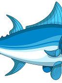 tuna cartoon for you design