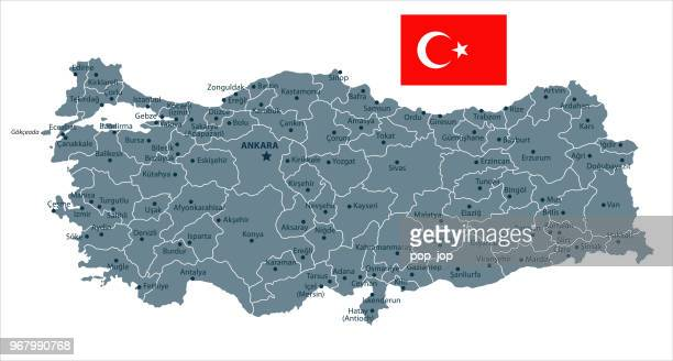 30 - Turkey - Grayscale Isolated 10