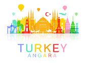 Turkey  Travel Landmarks.