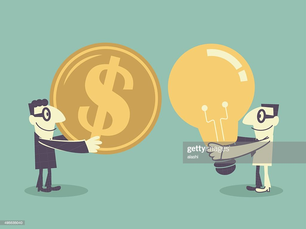 Turning a New Invention Idea Into Money Concept