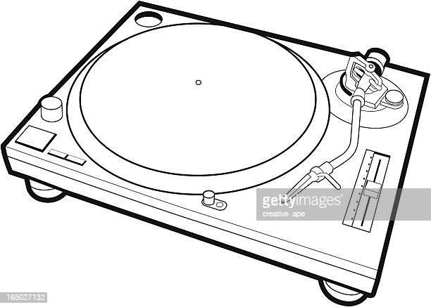 ターンテーブル - 1800~1809年点のイラスト素材/クリップアート素材/マンガ素材/アイコン素材