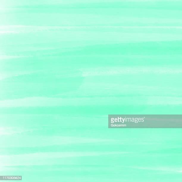 türkis grün abstrakte wand textur mit farbe pinselstriche.  abstrakte aquarell pinselstriche hintergrund. grunge, skizze, graffiti, farbe, aquarell, skizze. grunge vektor hintergrund. - türkis stock-grafiken, -clipart, -cartoons und -symbole
