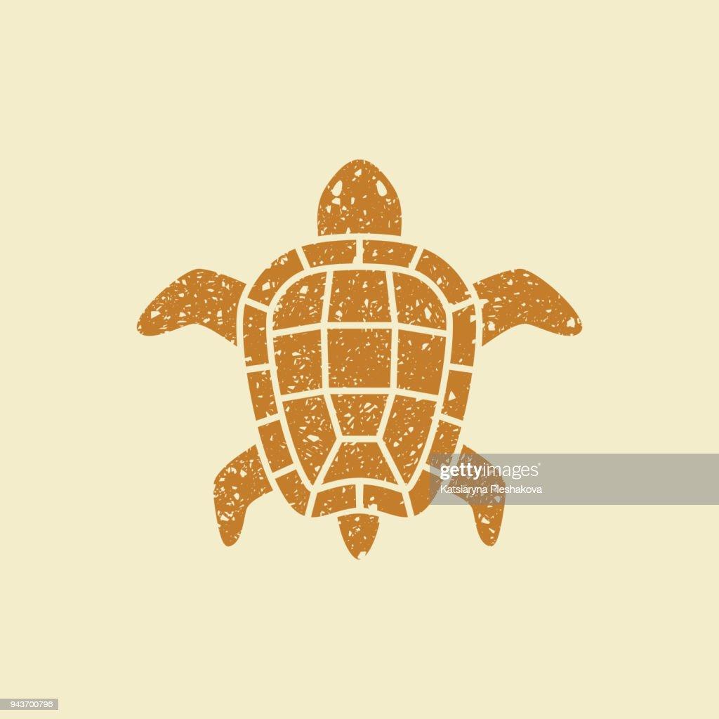 Turtle flat icon