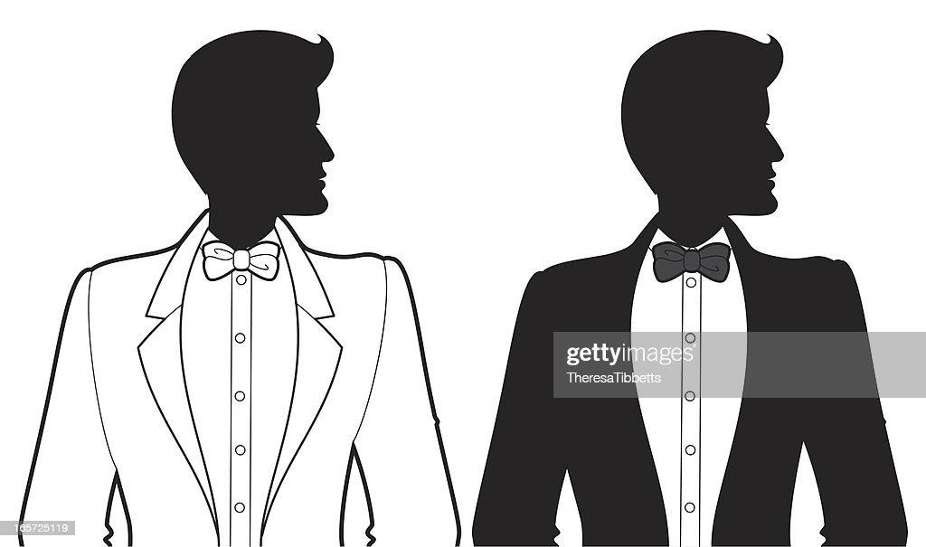 Tuxedo Guy : stock illustration