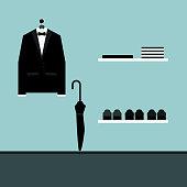 Tuxedo Vector illustration
