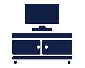 tv icon glyph