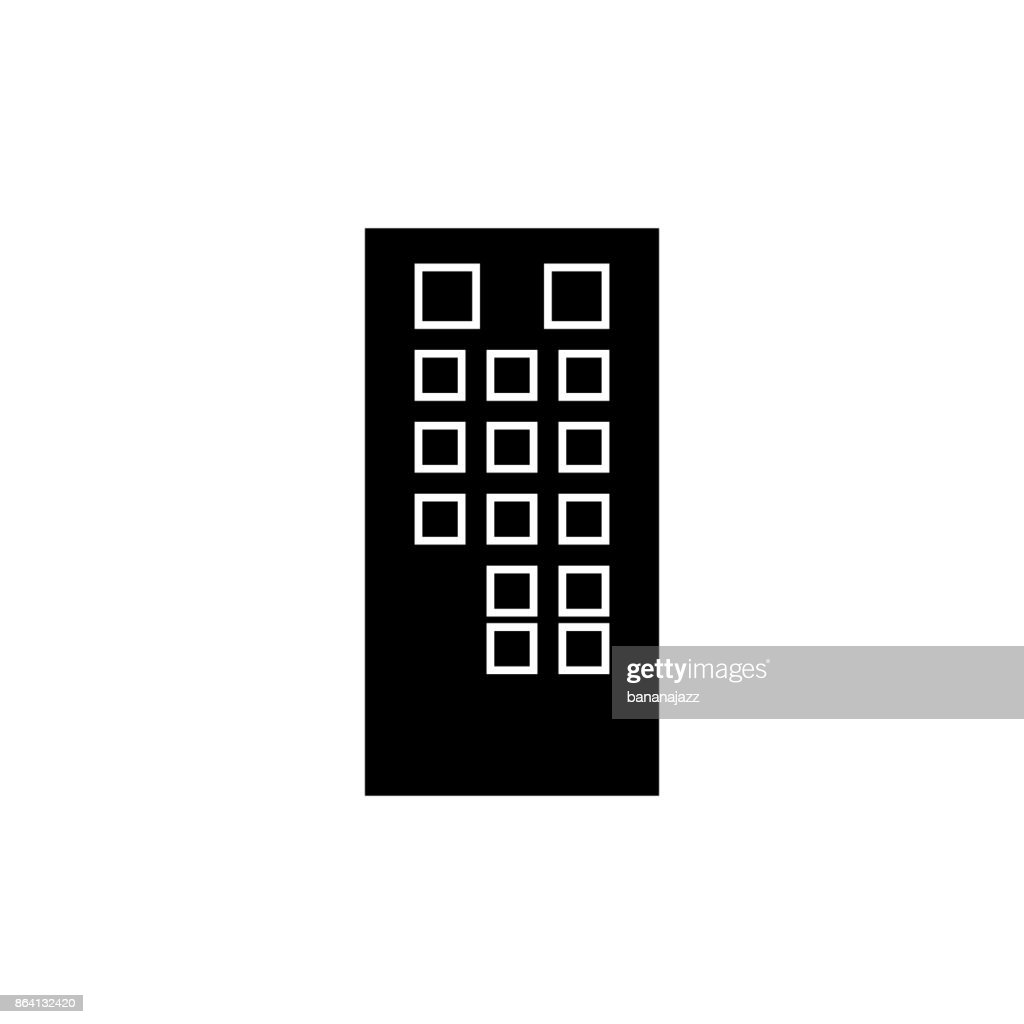 tv pult  icon, vector illustration, sign on isolated background