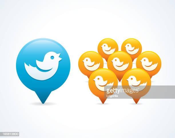 Tweeting to followers