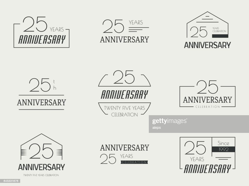 Twenty five years anniversary celebration