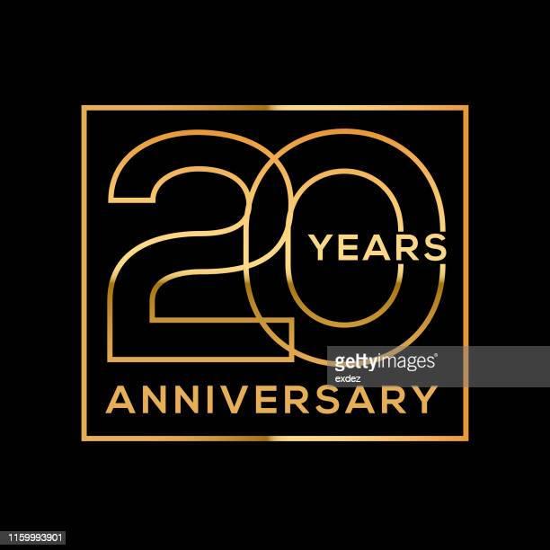創立20周年 - 聖年点のイラスト素材/クリップアート素材/マンガ素材/アイコン素材