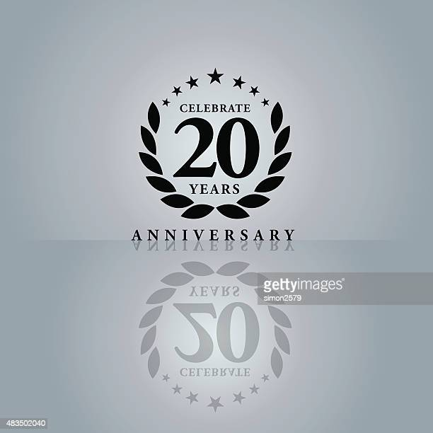Twenty Years Anniversary Emblem