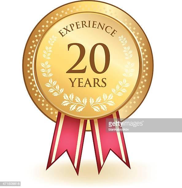 Nota de vinte anos de experiência