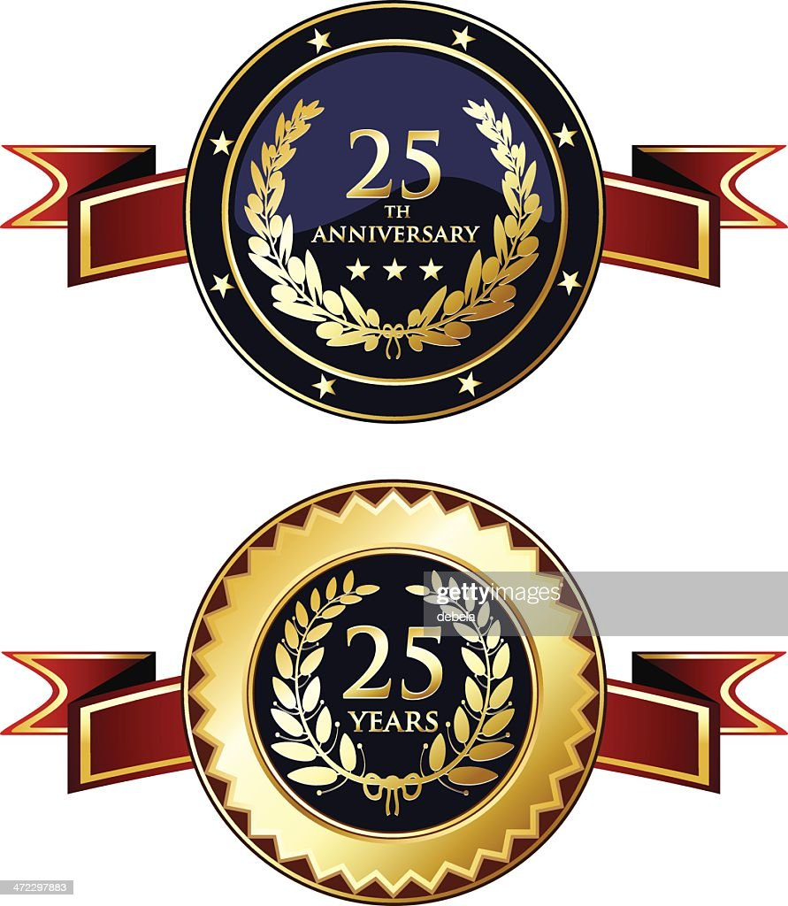 Twenty-fifth Anniversary Medals