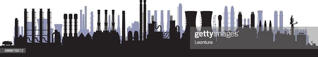 Twenty-Five Factories (Buildings Are Highly Detailed, Moveable and Complete)