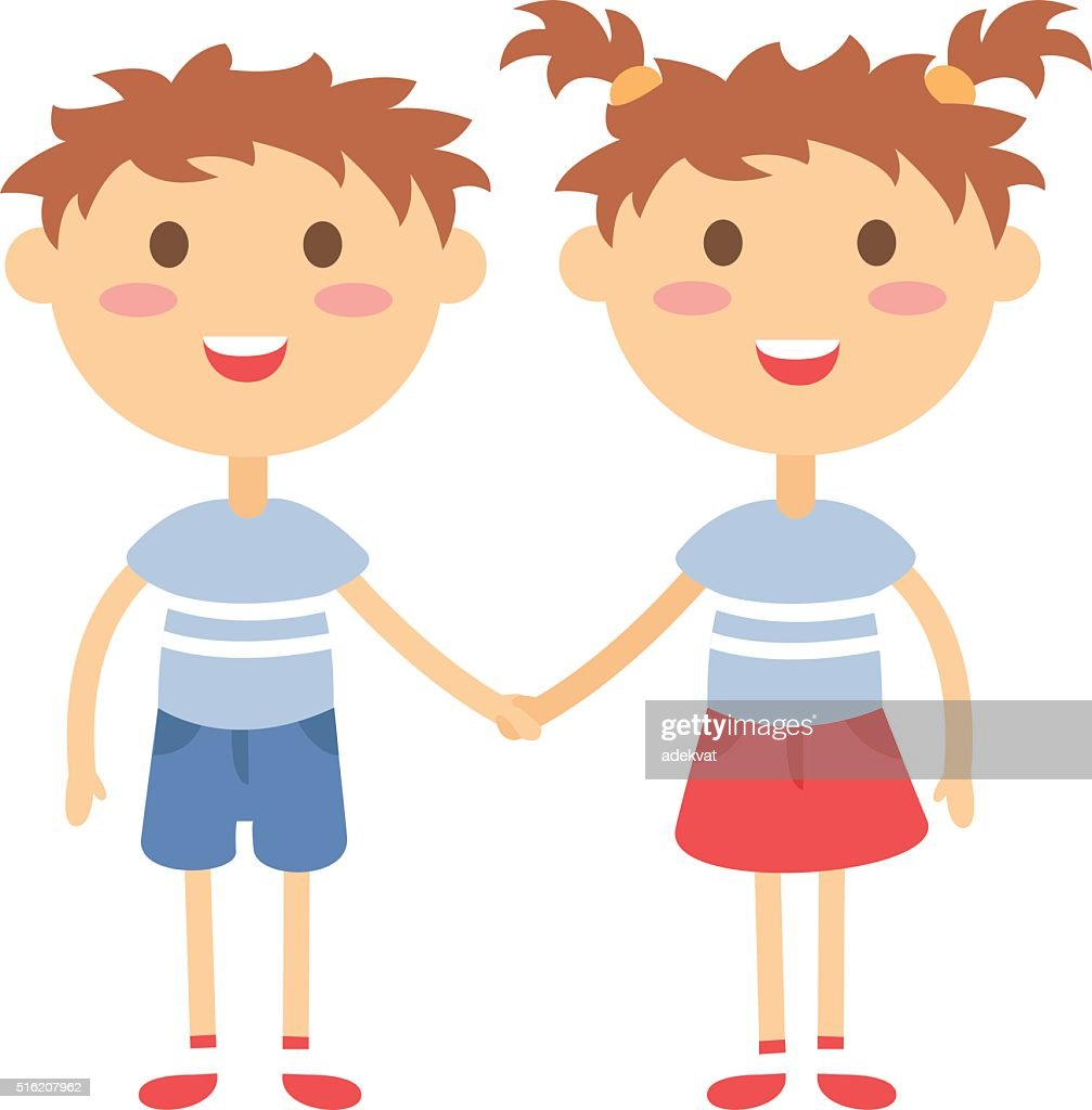 free boy and girl twin clipart and vector graphics clipart me rh clipart me clipart boy and girl playing clipart boy and girl outline