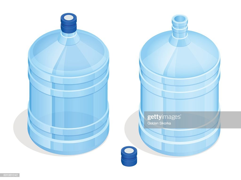 Two big bottles of water for delivery