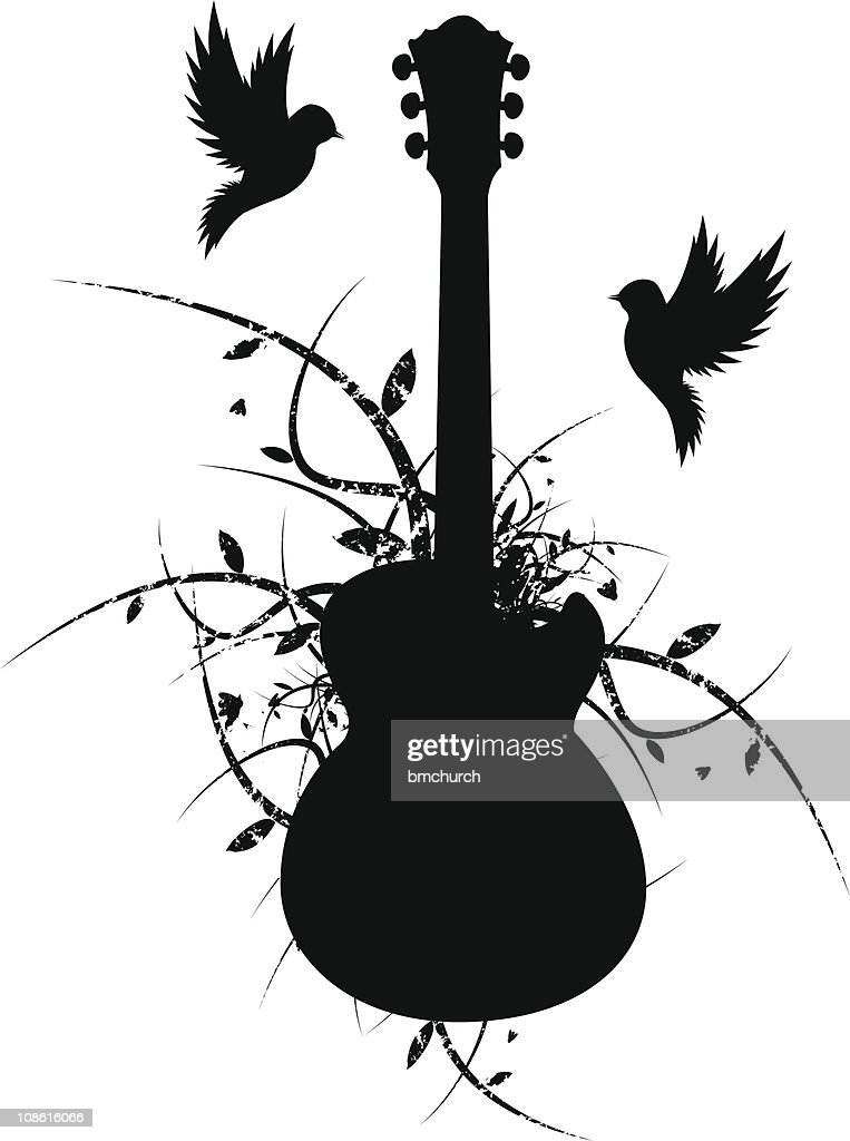 Two Birds Nest a Guitar