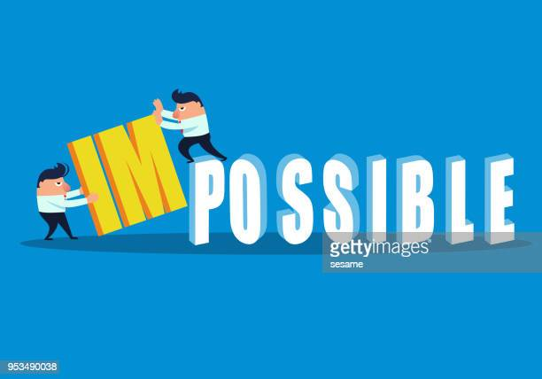 two businessmen challenge impossible - proofreading stock illustrations, clip art, cartoons, & icons