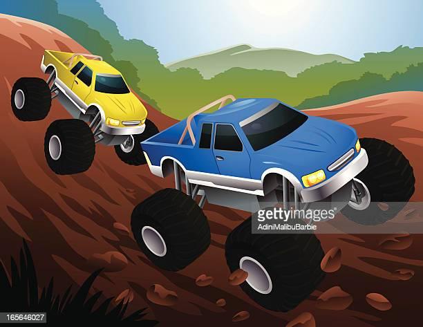 Illustrations Et Dessins Animés De Monster Truck