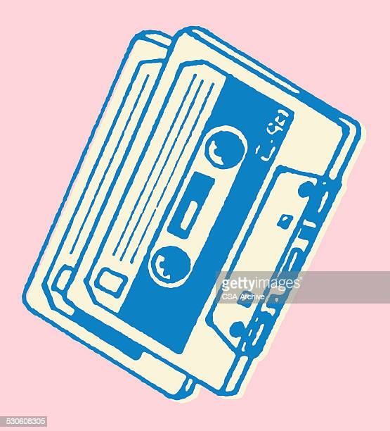 Two Cassette Tapes