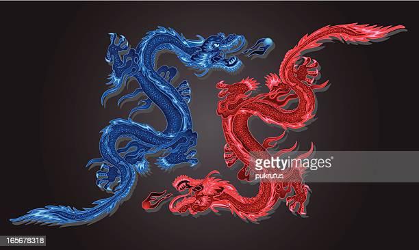 Zwei Drachen
