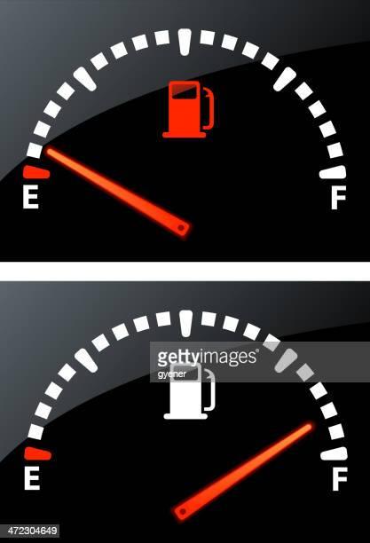 illustrations, cliparts, dessins animés et icônes de jauge d'essence - fuel pump