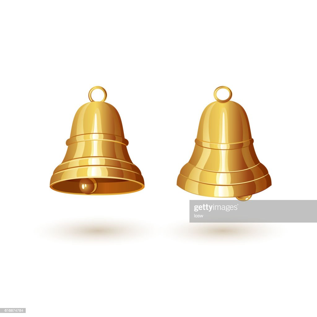 Two golden bells