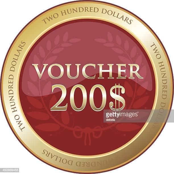 Two Hundred Dollar Voucher