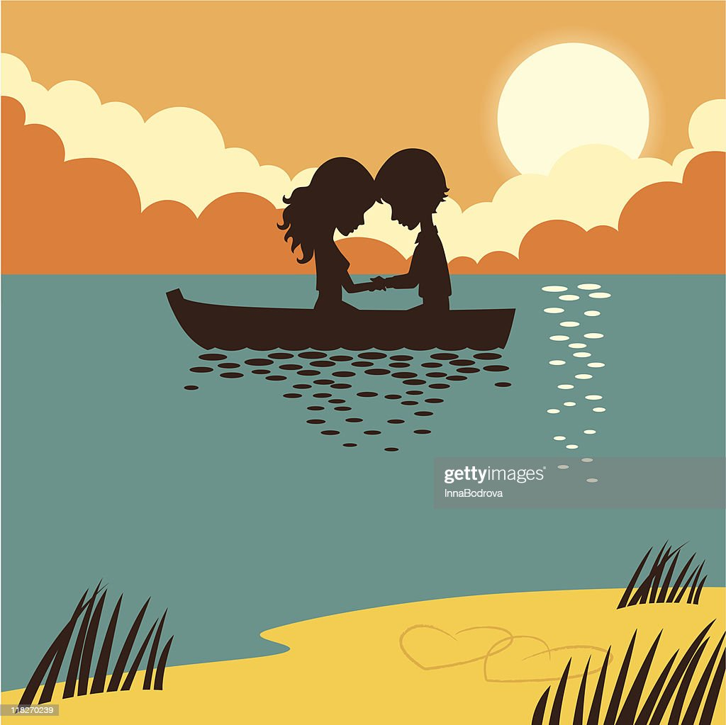 Two in a boat.