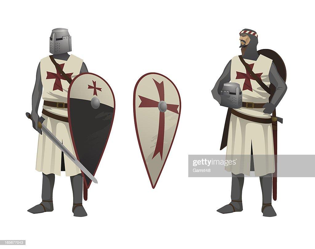 Two Knights Templar