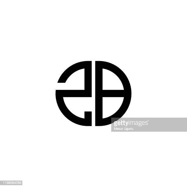 illustrazioni stock, clip art, cartoni animati e icone di tendenza di due logo - lettera b