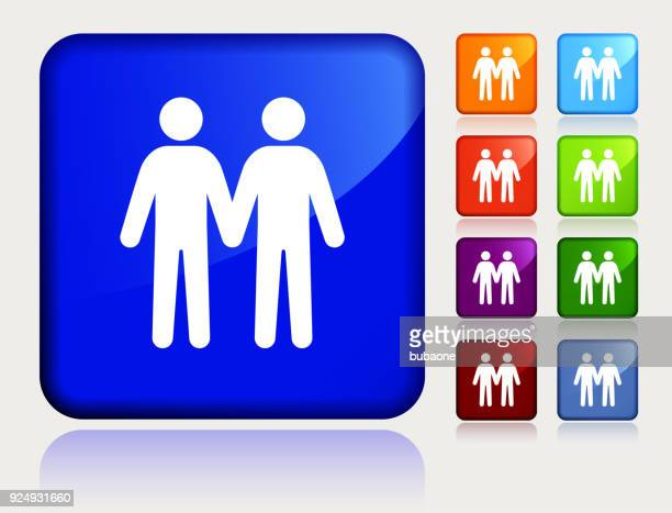 two men love each other gay couple. - marriage equality stock illustrations, clip art, cartoons, & icons