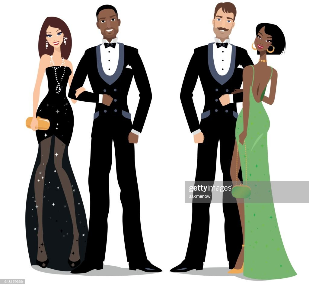 Evening Gown Stock Illustrations And Cartoons   Getty Images
