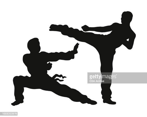 Karate Stock Illustrations Getty Images