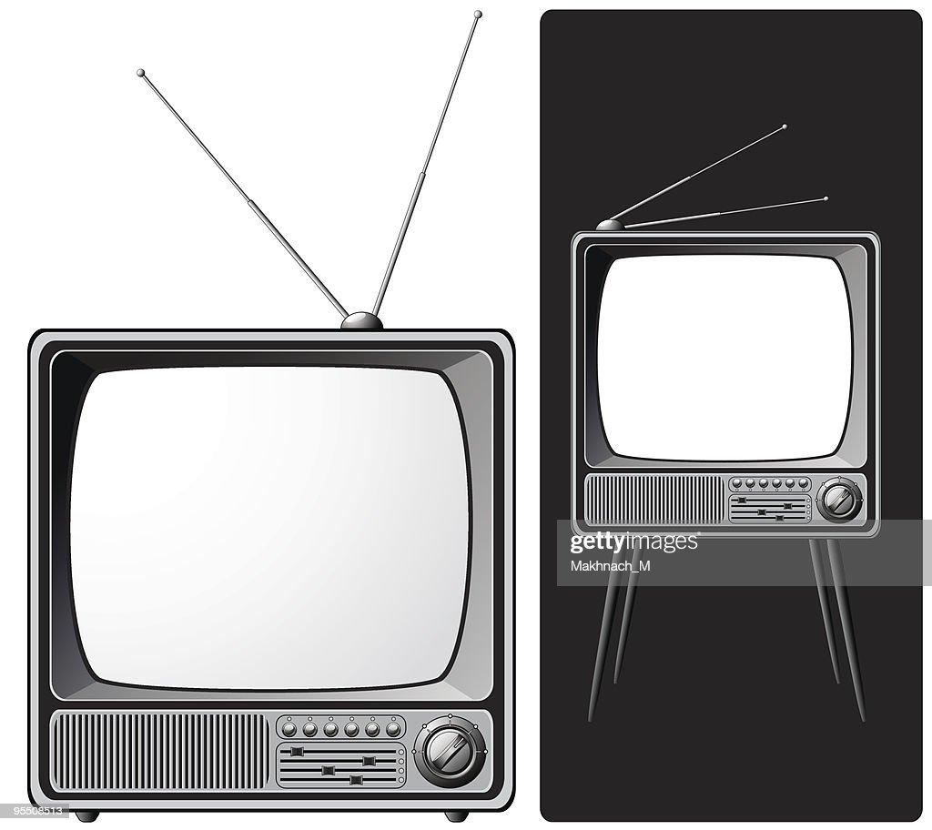 Two retro TV-sets