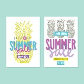 Two summer sale templates.